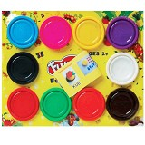 FUN-DOH Refill Isi 10 warna [28004] - Clay and Dough